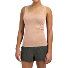 Ellen Tracy Seamless Sensation Logo Camisole (For Women) in Sunbeige - Closeouts