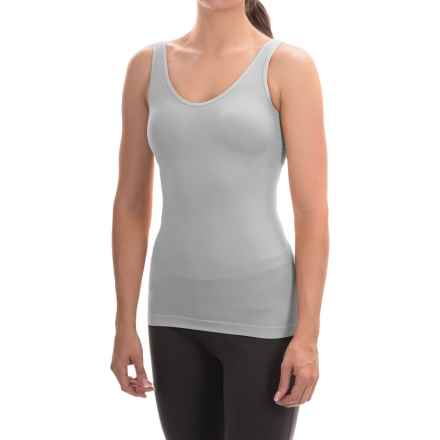 Ellen Tracy Seamless Tank Top - Reversible (For Women) in Sterling - Overstock