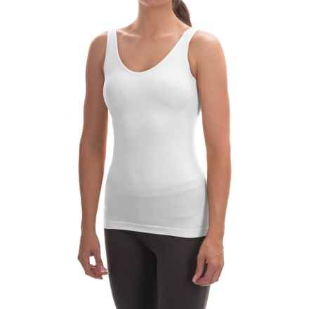 Ellen Tracy Seamless Tank Top - Reversible (For Women) in White - Overstock