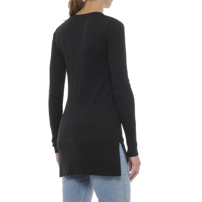 Ellen Tracy Step Hem Tunic Sweater (For Women) - Save 44%