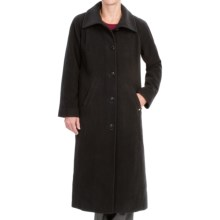 Ellen Tracy Wool Maxi Coat (For Women) in Black - Closeouts