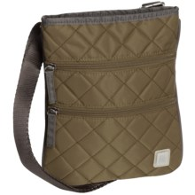 Ellington Annie Quilted Crossbody Purse (For Women) in Olive - Closeouts
