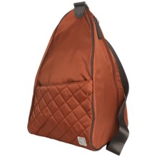 Ellington Annie Sling Pack - Quilted (For Women) in Terra Cotta - Closeouts