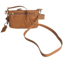 Ellington Simone Convertible Belt Bag - Leather (For Women) in Brown - Closeouts