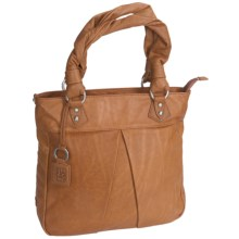 Ellington Simone Tote Bag - Leather (For Women) in Cognac - Closeouts