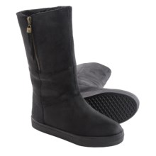 Elliott Lucca Prima Boots - Oiled Suede (For Women) in Black Suede - Closeouts