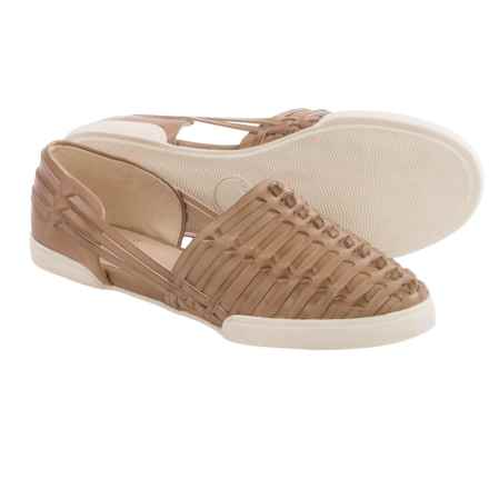 Elliott Lucca Rani Shoes - Leather, Slip-Ons (For Women) in Alpaca - Closeouts