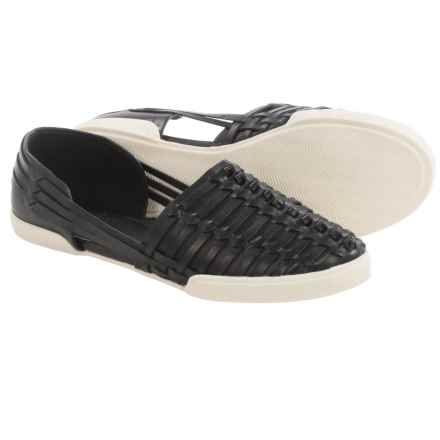 Elliott Lucca Rani Shoes - Leather, Slip-Ons (For Women) in Black - Closeouts