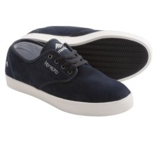 Emerica Laced by Leo Romero Shoes (For Men) in Blue/White - Closeouts