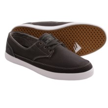 Emerica The Romero Troubadour Low Shoes (For Men) in Dark Grey/White - Closeouts