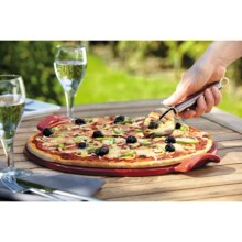 "Emile Henry Flame Pizza Stone - 14.5"" in Red - Closeouts"