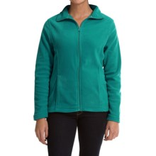 Emily B AirCore 200 Fleece Jacket (For Women) in Brilliant Aqua - Closeouts