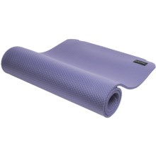 Empower All-Purpose Exercise Mat with Strap in Periwinkle - Closeouts