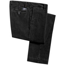 EM's of Mason's Stretch Corduroy Pants - Slim Fit (For Men) in Black - Closeouts