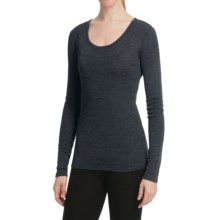 Emu Bondi Merino Wool T-Shirt - Long Sleeve (For Women) in Indigo - Closeouts