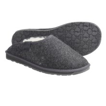 Emu Brookhill Slippers - Sheepskin, Wool (For Men) in Charcoal - Closeouts