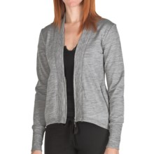 Emu Cooloola Cove Jacket - Merino Wool (For Women) in Grey Marle - Closeouts