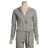 Emu Erskine French Terry Hoodie - Merino Wool (For Women)