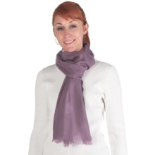 Emu Orchid Beach Scarf - Merino Wool (For Women) in Purple - Closeouts