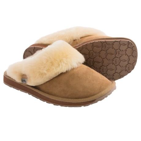 Emu Platinum Eden Sheepskin Slippers (For Women)