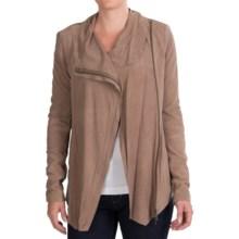 EMU Roseberry Asymmetric Zip Jacket (For Women) in Mushroom - Closeouts