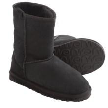 EMU Stinger Lo Boots - Sheepskin (For Women) in Black - Closeouts