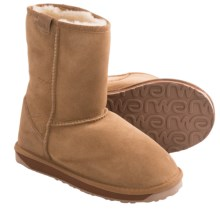 EMU Stinger Lo Boots - Sheepskin (For Women) in Chestnut - Closeouts