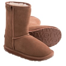 EMU Wallaby Lo Boots - Merino Wool Lining (For Kids) in Chestnut - Closeouts