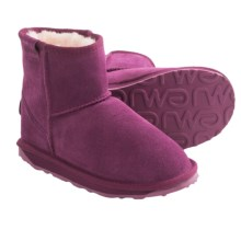 EMU Wallaby Mini Boots - Merino Wool Lining (For Kids) in Purple - Closeouts