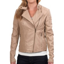 EMU Zeally Bay Leather Jacket (For Women) in Almond - Closeouts