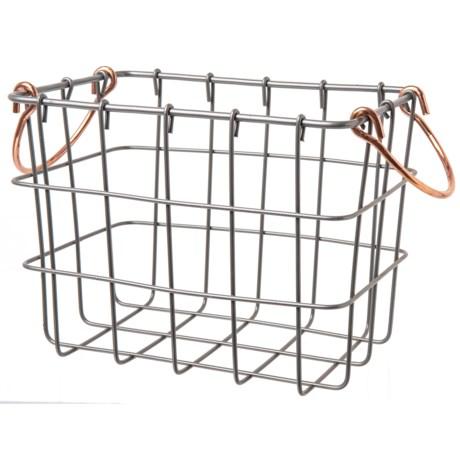 Wire Storage Crates   Enchante Rectangle Wire Storage Bin Small Save 37