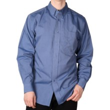 End-on-End Button-Down Shirt - Long Sleeve (For Men) in French Blue - 2nds