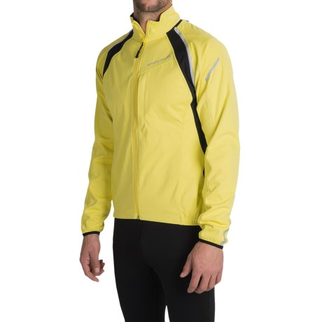 Endura Convert Soft Shell Cycling Jacket Zip Off Sleeves (For Men)