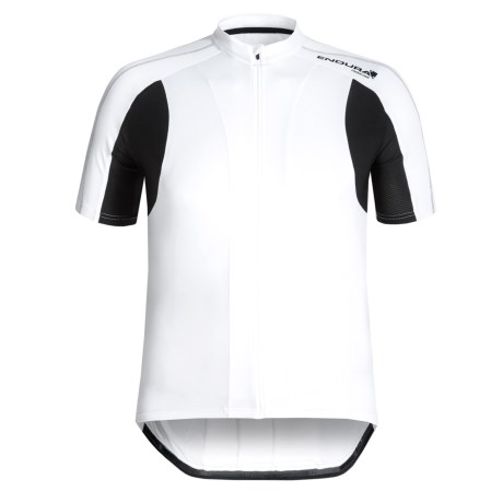 Endura FS260 Pro Cycling Jersey II Full Zip, Short Sleeve (For Men)