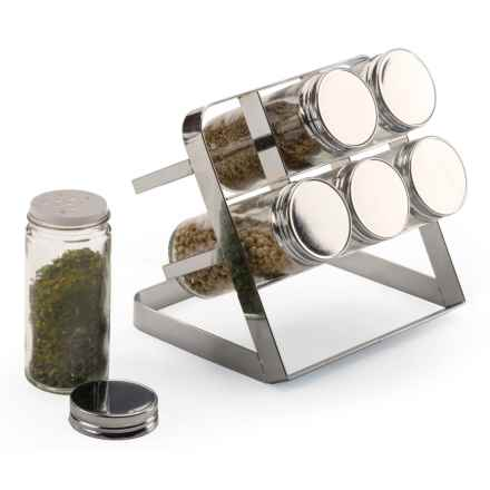 Endurance Compact Spice Rack in Stainless Steel - Closeouts