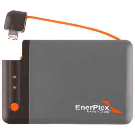 Enerplex Jumpr Mini Lightning Portable Battery - 1700 mAh in Grey/Orange - Closeouts