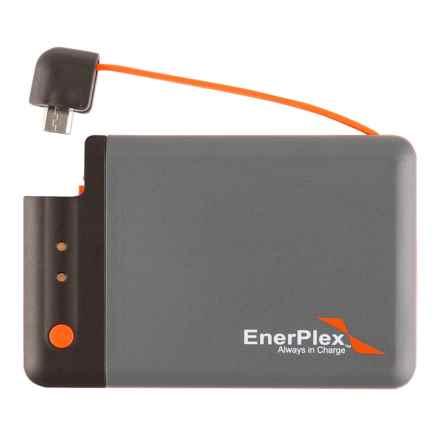 Enerplex Jumpr Mini Portable Battery - 1700 mAh in Grey/Orange - Closeouts