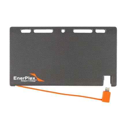 Enerplex Jumpr Slate 5K Lightning Portable Power Bank - 5100mAh in Grey - Closeouts