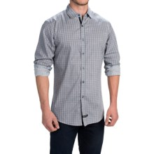 English Laundry Abstract Sport Shirt - Long Sleeve (For Men) in Cool Grey - Closeouts