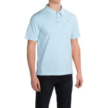 English Laundry Organic Cotton Polo Shirt - Short Sleeve (For Men) in Light Blue - Closeouts
