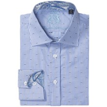 English Laundry Stripe Dress Shirt - Long Sleeve (For Men) in Blue/White - Closeouts