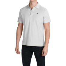 English Laundry Supima® Pique Polo Shirt - Short Sleeve (For Men) in White - Closeouts