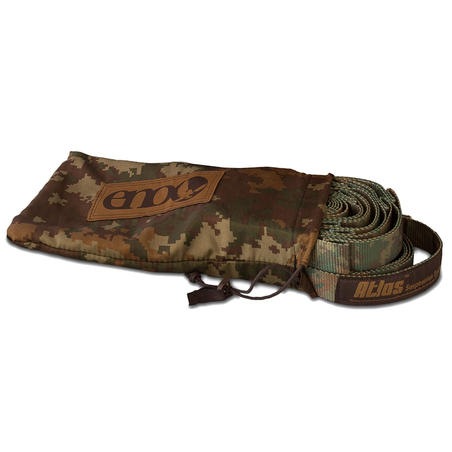 Medium image of eno atlas camo hammock straps