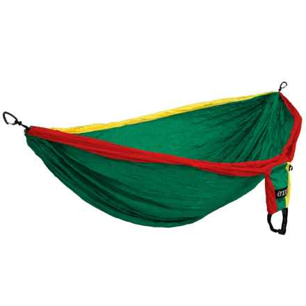 ENO Double Deluxe Hammock in Rasta - Closeouts