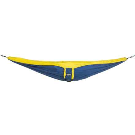 ENO Double Deluxe Hammock in Sapphire/Yellow - Closeouts