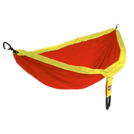 ENO DoubleNest Hammock in Yellow/Orange - Closeouts
