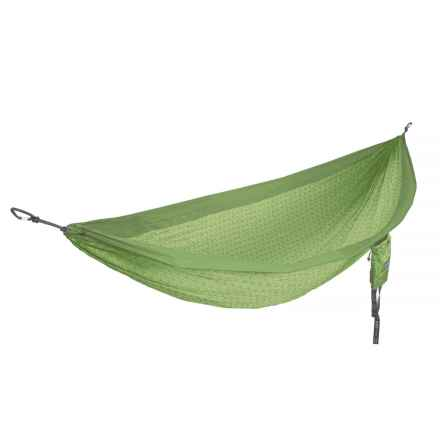 ENO Flower of Life DoubleNest Hammock in Lime - Closeouts