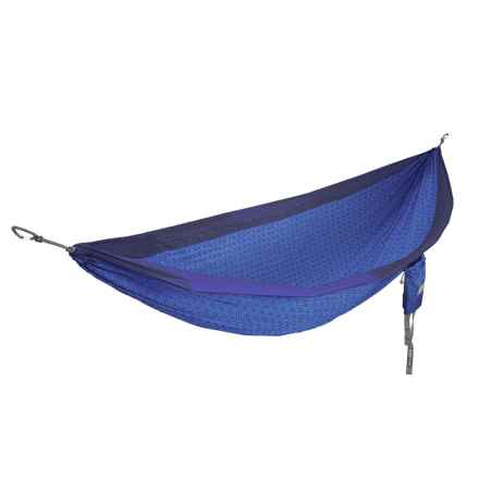 ENO Flower of Life DoubleNest Hammock in Navy/Sapphire - Closeouts