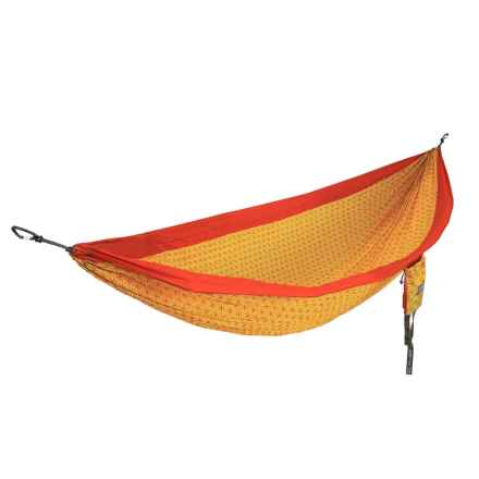 ENO Flower of Life DoubleNest Hammock in Orange/Yellow - Closeouts
