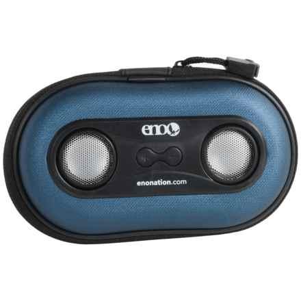 ENO HiFi Speaker and Case in Blue